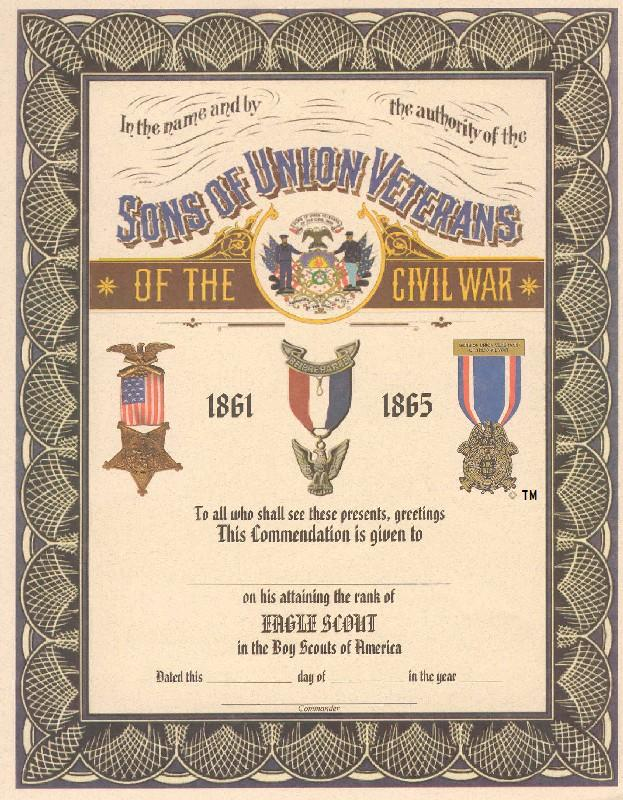 Certificates for Eagle scout certificate template