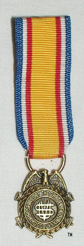 SUVCW Miniature Badge - National - Gold