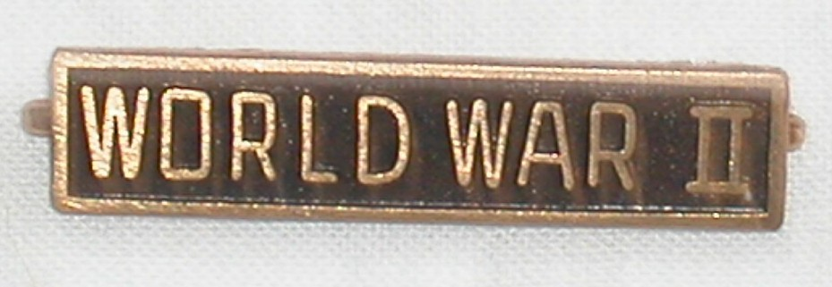World War II Service Bar