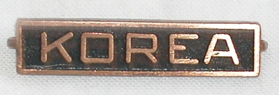 Korean Conflict Service Bar