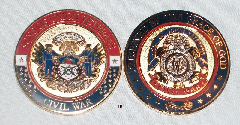 SUVCW Official Challenge Coin - 3 Color