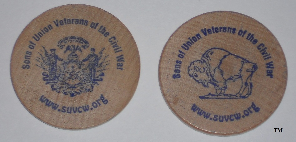 SUVCW Wooden Coins (25 Bulk)